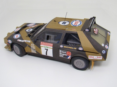 Lancia Delta S4 - Grifone Rally Team - pre start
