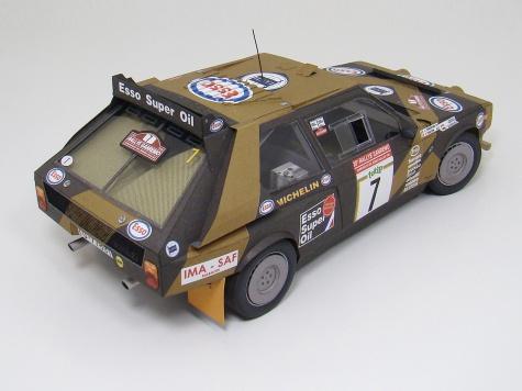 Lancia Delta S4 - Grifone Rally Team - pre start