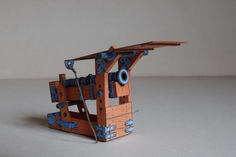 Husitský vůz, 3D úprava, projekt RV90 k 90. narozeninám R. Vyškovského