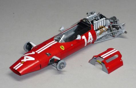 Ferrari 1512 - Pedro Rodriguez - GP Mexika 1965