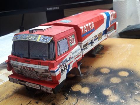 Tatra 815 6x6 VE Rallye Paris-Dakar 1986