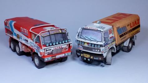 Tatra 815  6x6 VE Paris - Dakar 1986