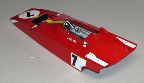 Ferrari 312B3 - Jacky Ickx - GP Španělska 73