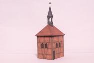 Zvonice u kostela Nanebevzetí Panny Marie - Církvice