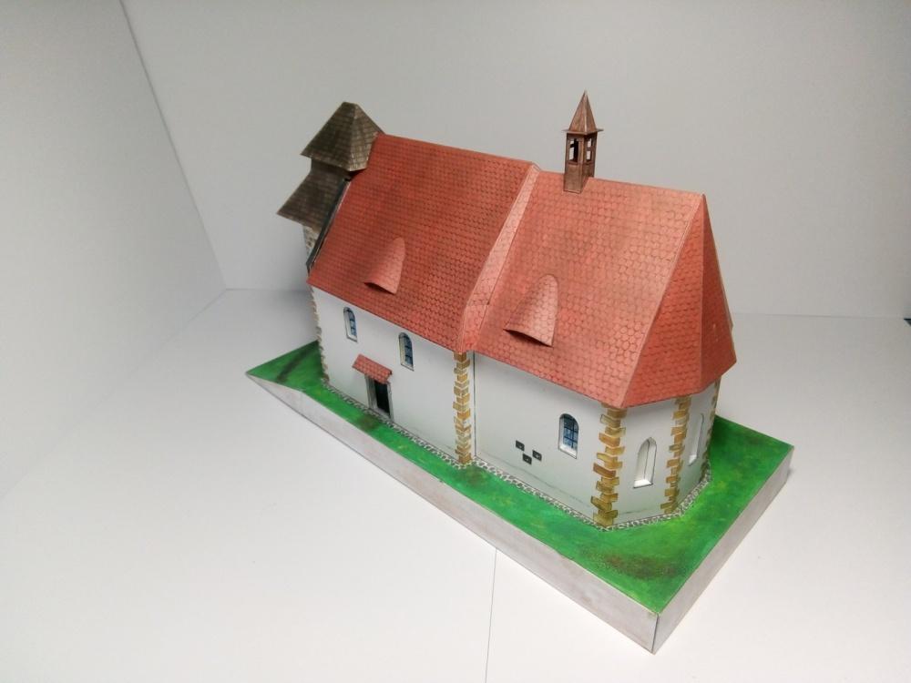 kostel. sv. Ambrože, Vícov