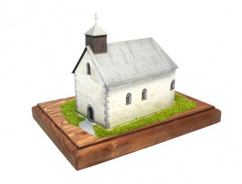 Kostel sv. Barbory, Jazernica