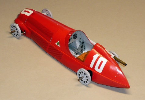 Alfa Romeo 158 - Giusepe Nino Farina - GP Italie 1950