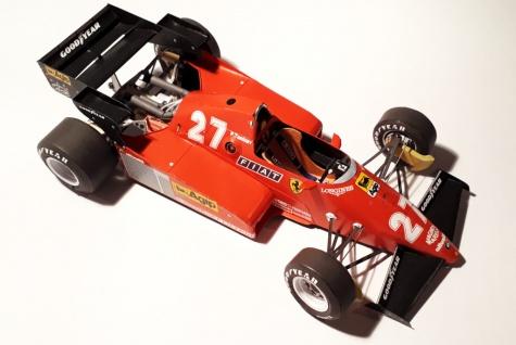 Ferrari 126C3 - P.Tambay, German GP 1983