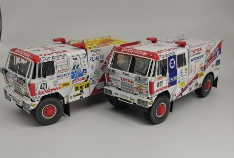 Tatra 815 4x4 HAS - Dakar 1995