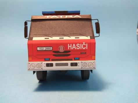 CAS 24 Tatra 815 4x4.2  SDH Ústí nad Orlicí-Černovír