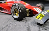 Ferrari 312 T - Clay Regazzoni - GP Monaka 1975