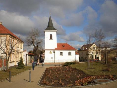 Kostel sv. Martina Praha-Repy