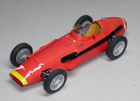 Maserati 250F - Juan Manuel Fangio - GP Německa 1957
