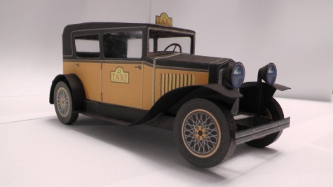 FORD - TAXI  1930