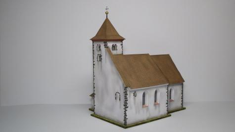 Kostel sv. Voršily - Újezdec u Bělčic