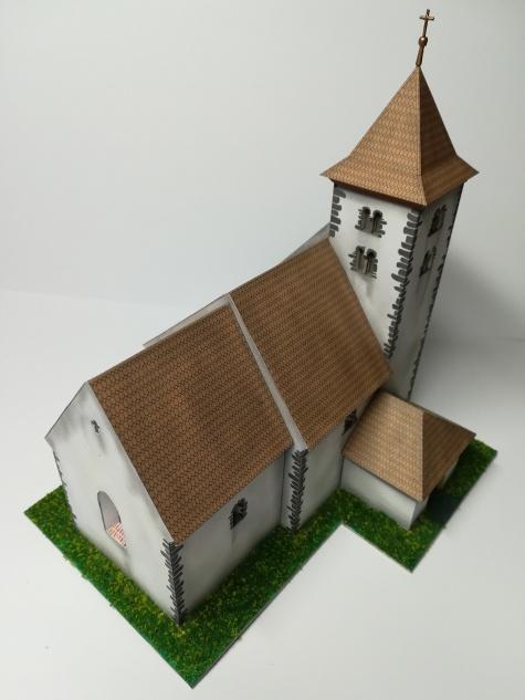 Kostel sv. Voršily Újezdec u Bělčic