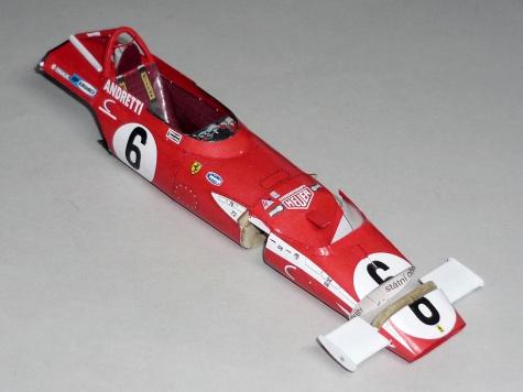 Ferrari 312B - Mario Andretti - GP JAR 1971