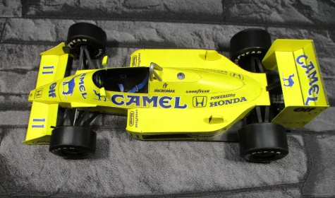 Lotus 99T - Satoru Nakajima - 1987