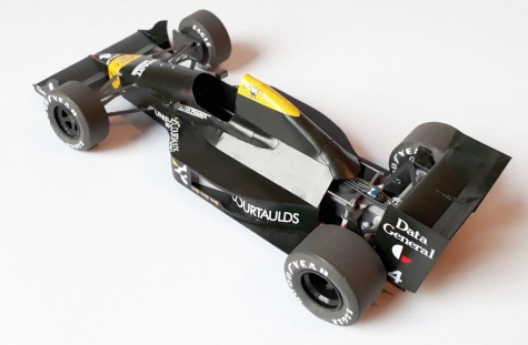 Tyrrell 017, Julian Bailey, GP USA 1988