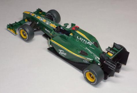 Lotus T127 - Jarno Trulli - GP Bahrainu 2010