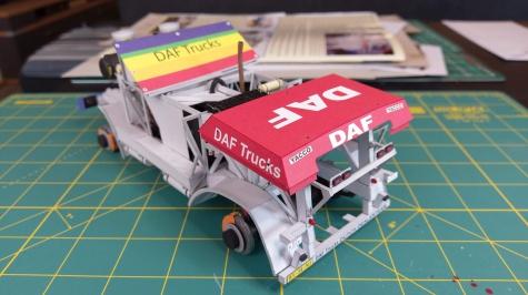 DAF 95 X1 Turbotwin Dakar 1988