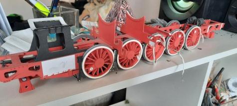 Parní lokomotiva OKz32