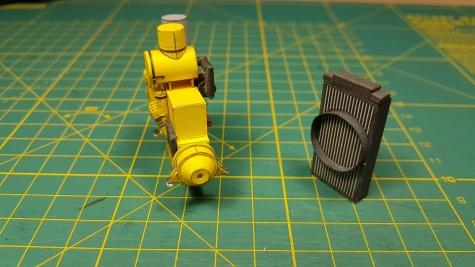 vojenský dozer Caterpillar D5N XL