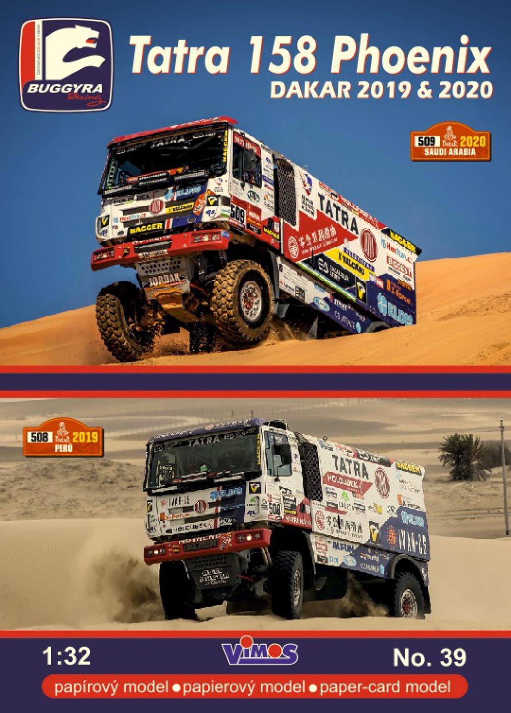 Tatra 158 Phoenix Buggyra - Dakar 1019-2020