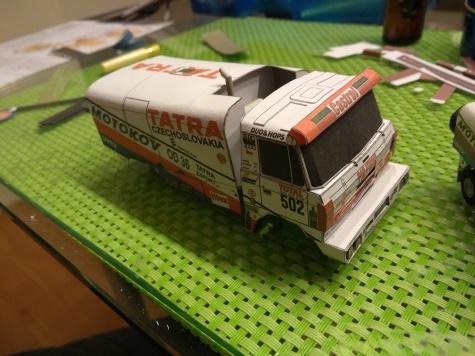 Tatra 815 Dakar1992 test