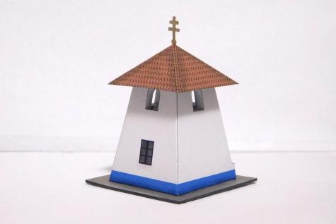 Kaplička se zvonicí - Louka