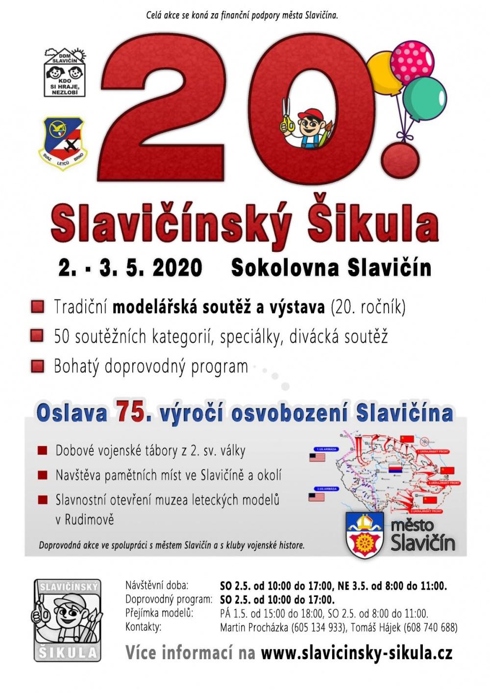Slavičínský Šikula 2020