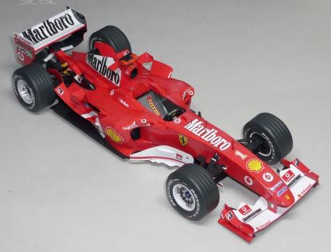 Ferrari 2004 - Michael Schumacher - GP Maďarska 2004