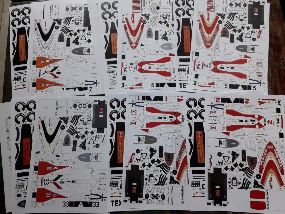 McLaren M 23 - 1973.1974,1975