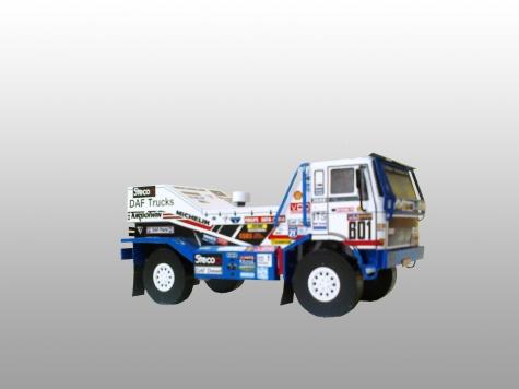 Daf Turbotwin Dakar 1986 1:53
