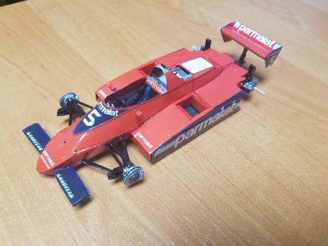Brabham BT49 Ford - Niki Lauda - Canadian GP 1979