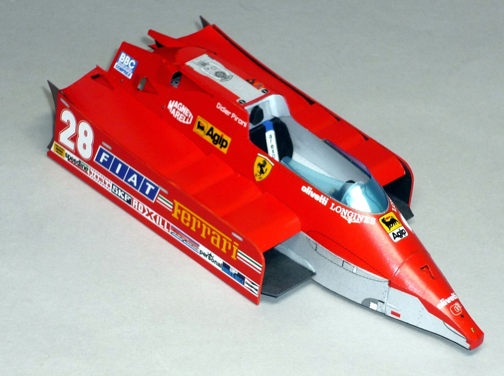 Ferrari 126 CX - Didier Pironi - GP USA West 1981