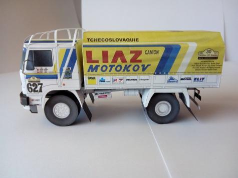LIAZ č. 627,  Dream of Dakar 1985 - 2015
