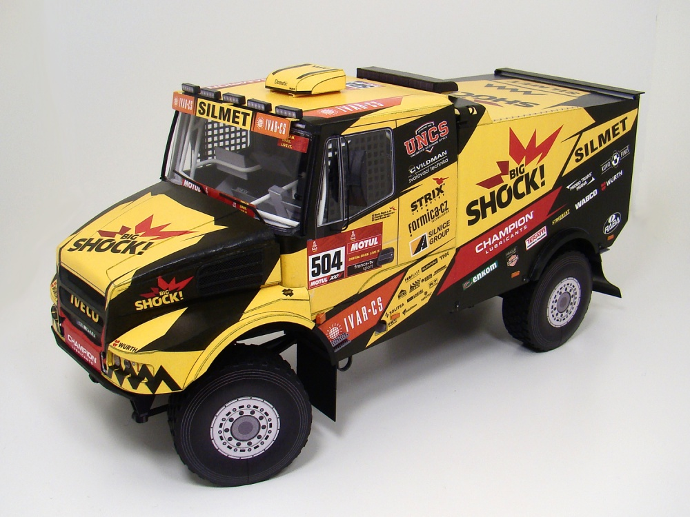 Iveco Powerstar 6400 Karel Big Shock Racing Dakar 2020