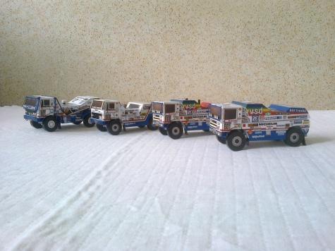 Daf Turbotwin X1 Dakar 1988 1:53