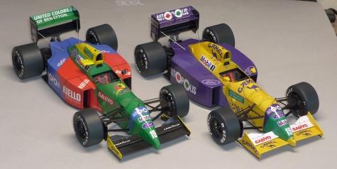 Benetton B190B - Roberto Moreno - GP USA 1991