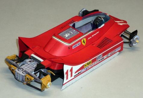 Ferrari 312T4 - Jody Scheckter - 1979