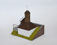 Zvonica v obci Podzámèok