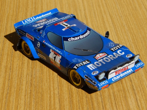 Lancia Stratos Team Chardonnet