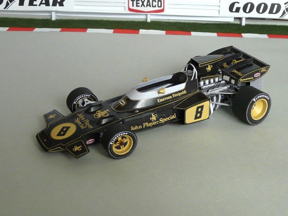Lotus 72D, 1972 VC JAR