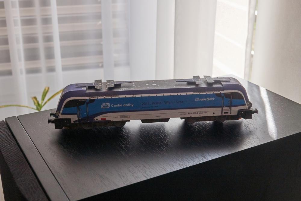 Lokomotíva Taurus 1216 Railjet - Betexa