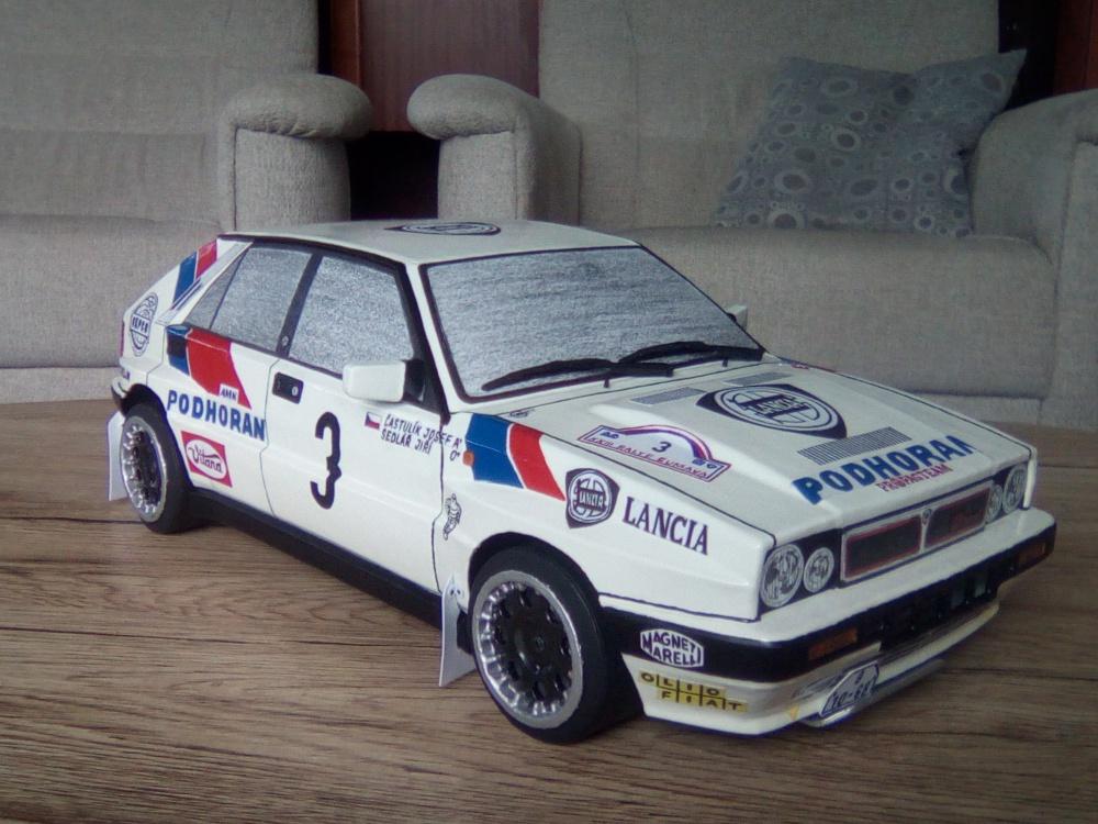 Lancia Delta HF Integrale (Jiří Sedlář)