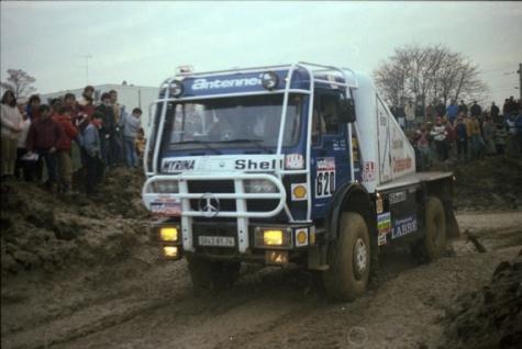 Mercedes - Benz 1936AK Dakar 1985