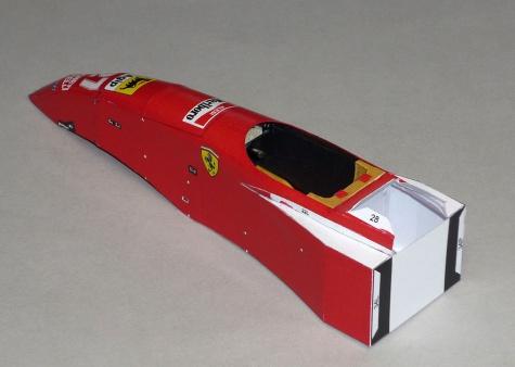 Ferrari 412T2 - Jean Alesi - GP Kanady 1995