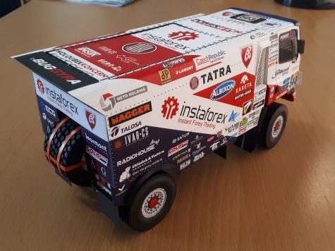 Tatra 158 Phoenix -Dakar 2017 - A. Loprais