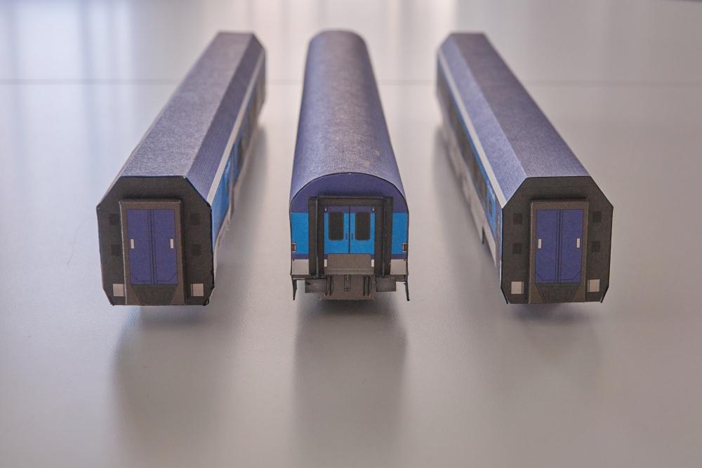 Rychlíkové vlaky - Betexa 1:87